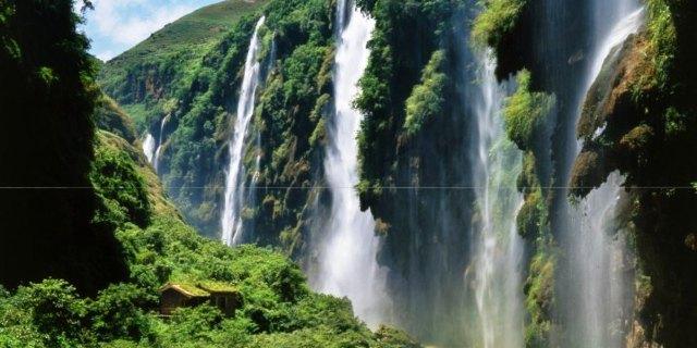 马岭河峡谷记忆